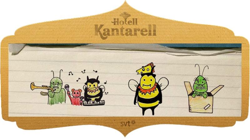 Spela Hotell Kantarell-spelet!