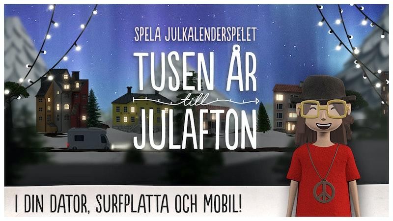 """Spela """"Tusen år till julafton""""-spelet"""