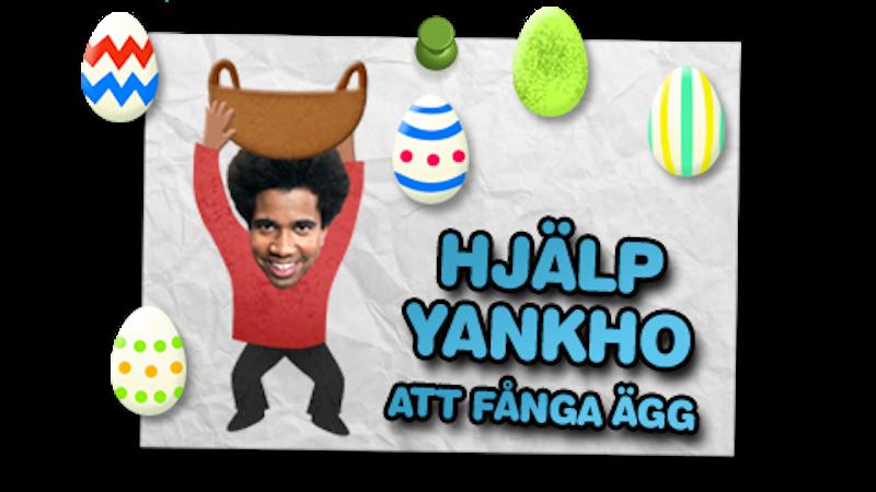 Hjälp Yankho att fånga ägg