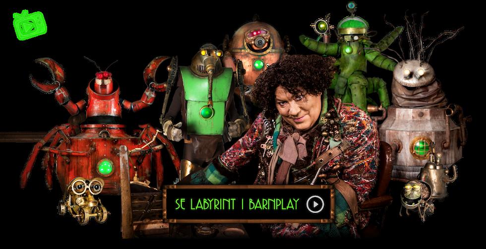 Länk till programmet Labyrint i Barnplay