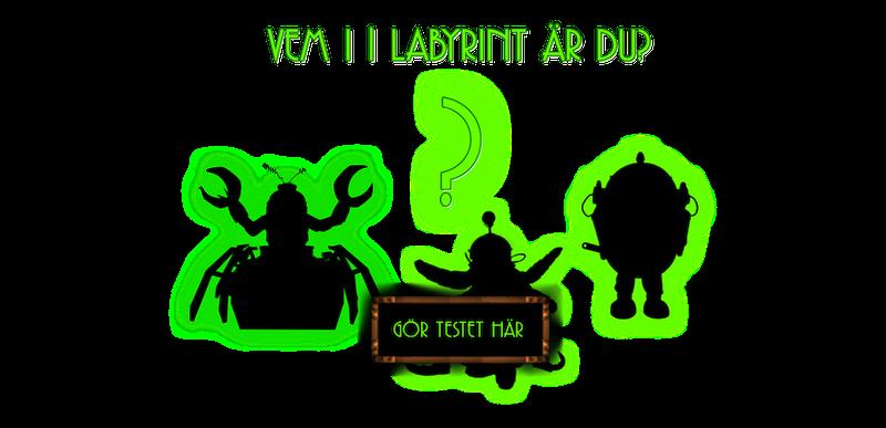 Ett test som säger vem du är i Labyrint.
