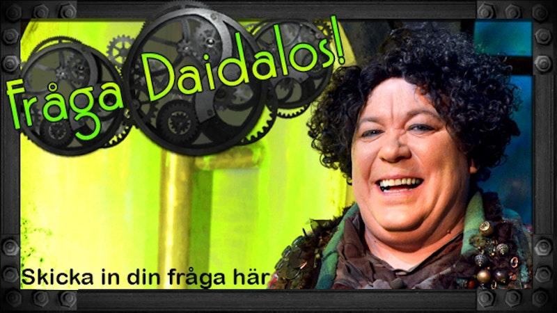 Länk till formulär där du kan skicka fråga till Daidalos.