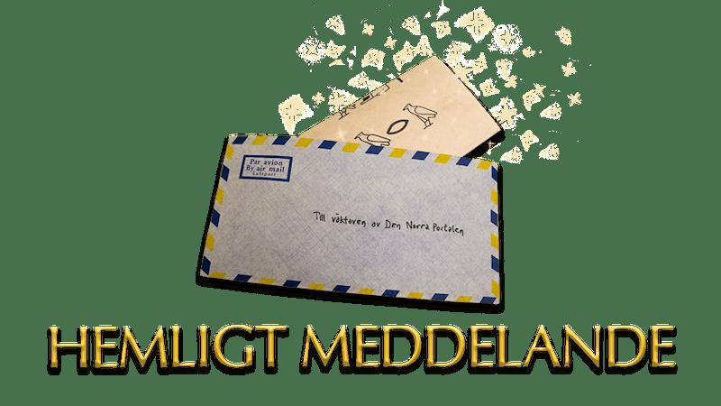Tidigare uppdrag - Hemligt meddelande