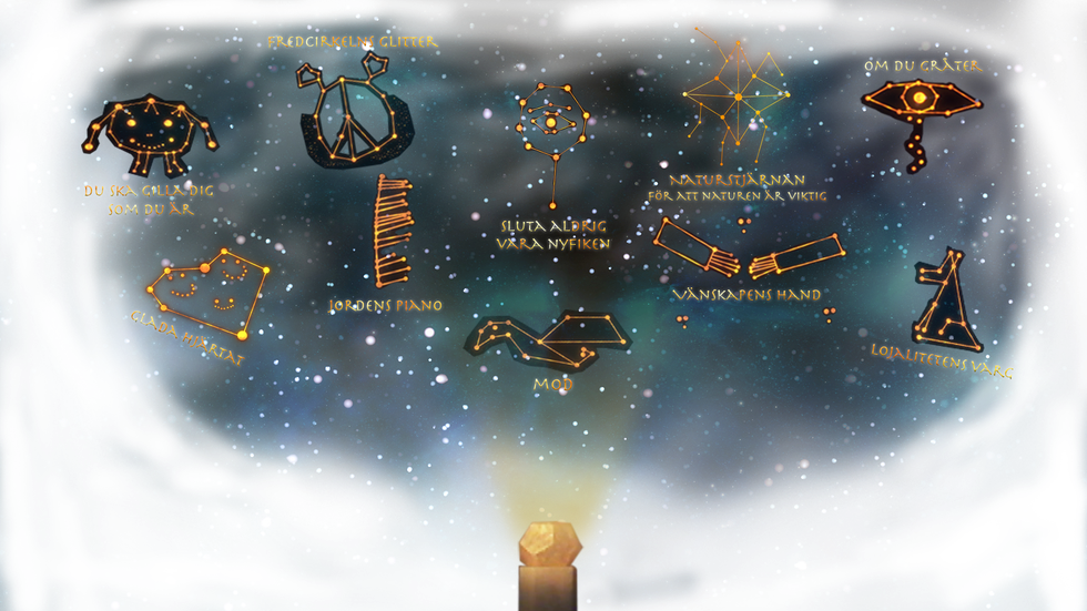 Alla Superlördags stjärnbilder