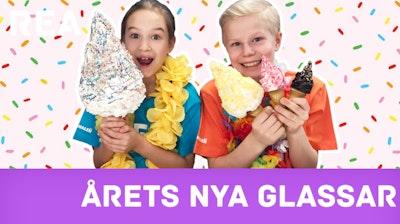 Årets nya glassar