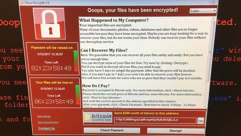 Dataviruset Wannacry