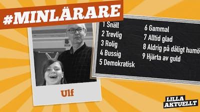 8A på Lundåkerskolan i Gislaved hyllar Ulf!
