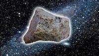 Miljarder år gammal rymdsten säljs