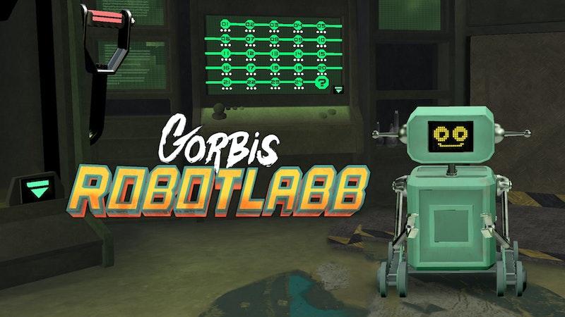 Julkalenderspelet 2017: Gorbis robotlabb