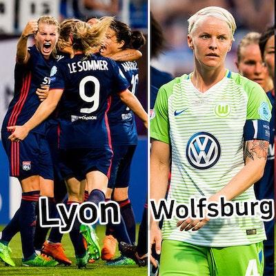 Lyon Wolfsburg