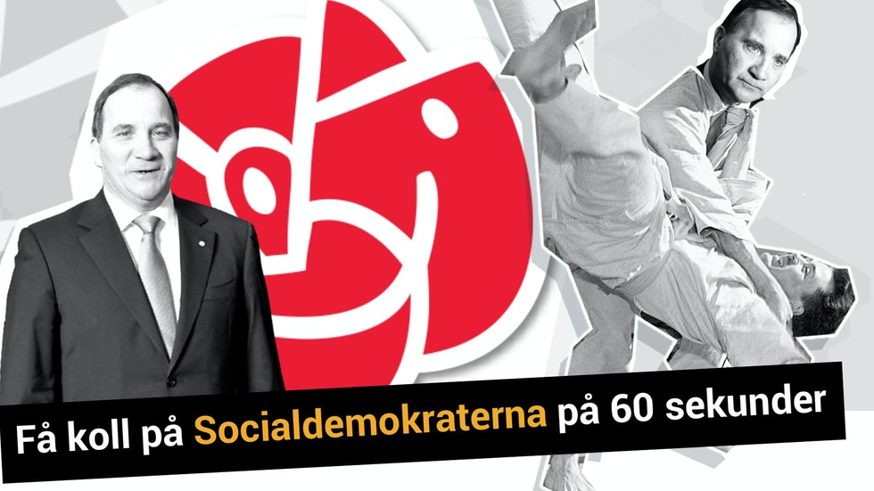 Få koll på Socialdemokraterna på 60 sekunder