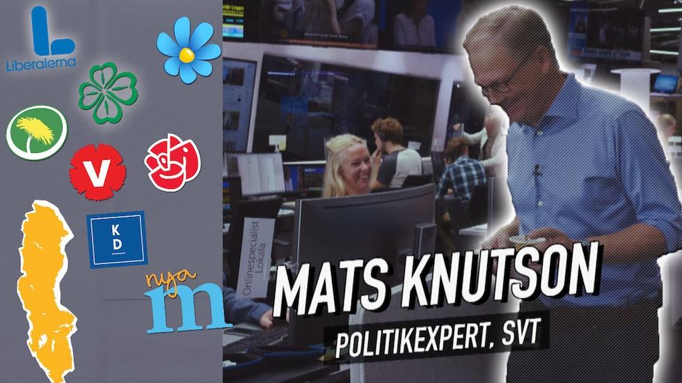 SVT:s expert Mats Knutson förklarar vilka partier som kanske kommer samarbeta