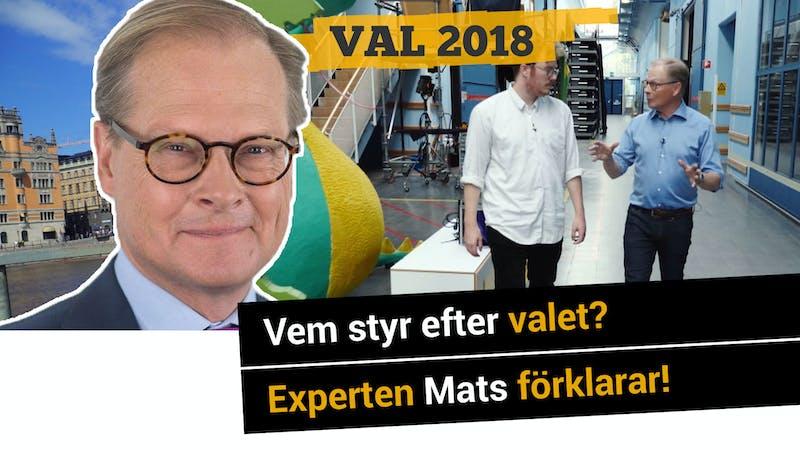 Vem styr efter valet? Experten Mats förklarar