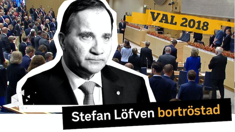 Stefan Löfven bortröstad