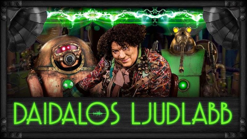 Lek med Daidalos ljudlabb!